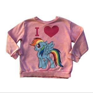 "My Little Pony Rainbow Dash ""Vintage"" Sweatshirt"